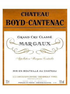 Château Boyd Cantenac 2012 Original wooden case of 12 bottles (12x75cl)