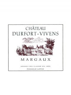 Château Durfort-Vivens 2009 Original wooden case of 12 bottles (12x75cl)