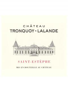 Château Tronquoy-Lalande 2007 Original wooden case of 12 bottles (12x75cl)