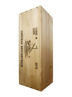 Château Beychevelle 2015 Original wooden case of one double magnum (1x300cl)