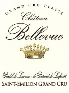 Château Bellevue (Saint-Emilion) 2015 Original wooden case of 12 bottles (12x75cl)