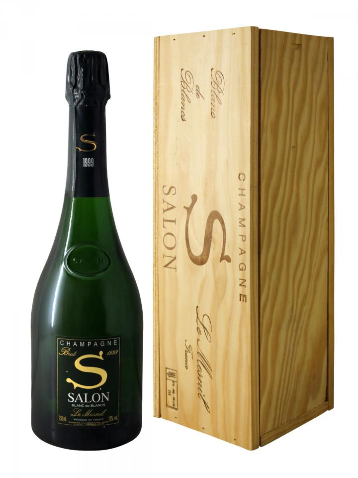 Champagne Salon S Le Mesnil Blanc de Blancs Brut 1999 Original wooden case of 1 bottle (1x75cl)
