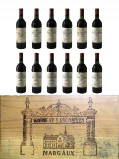 Château Lascombes 1981 Original wooden case of 12 bottles (12x75cl)