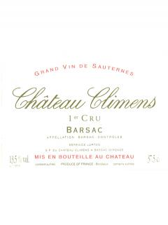 Château Climens 2006 Original wooden case of 12 bottles (12x75cl)