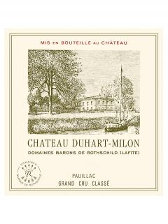 Château Duhart-Milon 2006 Original wooden case of 6 bottles (6x75cl)