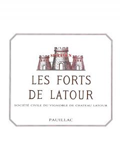 Les Forts de Latour 2006 Original wooden case of 12 bottles (12x75cl)