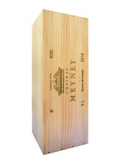 Château Meyney 2016 Original wooden case of one salmanazar (1x900cl)
