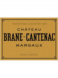 Château Brane-Cantenac 2000 Original wooden case of one jéroboam (1x500cl)