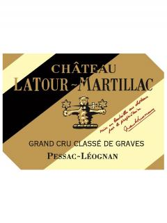 Château Latour-Martillac 2015 Original wooden case of 6 bottles (6x75cl)