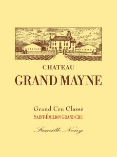 Château Grand Mayne 1981 Original wooden case of 6 magnums (6x150cl)
