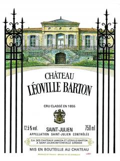 Château Léoville Barton 2006 Original wooden case of 12 bottles (12x75cl)