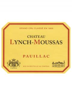 Château Lynch-Moussas 1999 Original wooden case of 12 bottles (12x75cl)