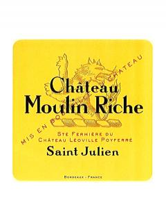Château Moulin Riche 2008 Original wooden case of 6 bottles (6x75cl)