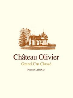Château Olivier 1990 Original wooden case of 12 bottles (12x75cl)