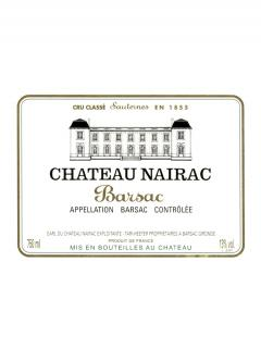 Château Nairac 1996 Original wooden case of 12 bottles (12x75cl)