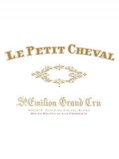 Le Petit Cheval 2014 Original wooden case of 6 bottles (6x75cl)