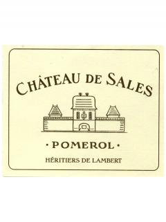Château de Sales 2014 Original wooden case of 6 magnums (6x150cl)