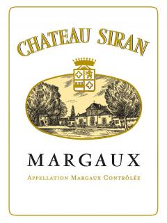 Château Siran 2014 Original wooden case of 6 magnums (6x150cl)