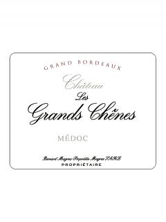 Château Les Grands Chênes 2014 Original wooden case of 12 bottles (12x75cl)