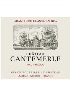 Château Cantemerle 2012 Original wooden case of 6 bottles (6x75cl)