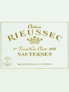 Château Rieussec 2009 Original wooden case of 6 bottles (6x75cl)