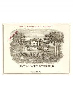 Château Lafite Rothschild 2008 <br /><span>Original wooden case of 6 bottles (6x75cl)</span>