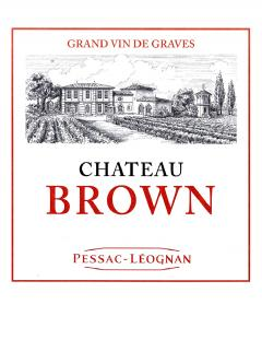 Château Brown 2013 <br /><span>Original wooden case of 12 bottles (12x75cl)</span>