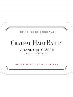 Château Haut-Bailly 2007 Original wooden case of 12 bottles (12x75cl)