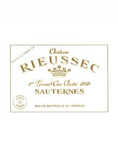 Château Rieussec 1996 Original wooden case of 12 bottles (12x75cl)