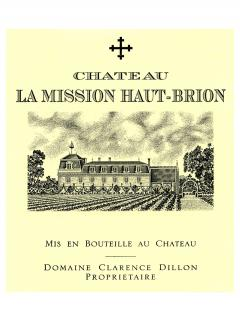 Château La Mission Haut-Brion 2013 Original wooden case of 3 bottles (3x75cl)