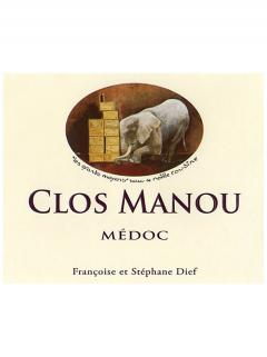 Clos Manou 2012 Original wooden case of 6 bottles (6x75cl)