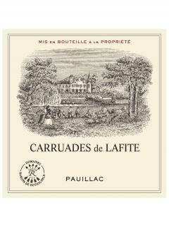 Carruades de Lafite 2006 <br /><span>Original wooden case of 6 bottles (6x75cl)</span>