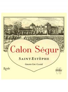 Château Calon-Ségur 2008 Original wooden case of 12 bottles (12x75cl)