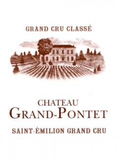 Château Grand Pontet 2007 Original wooden case of 12 bottles (12x75cl)