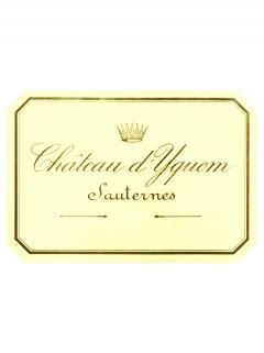 Château d'Yquem 2013 Original wooden case of 3 bottles (3x75cl)