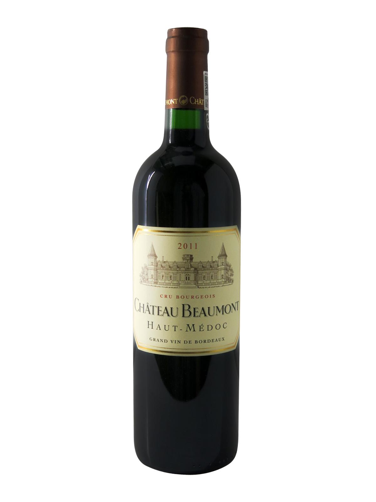 2011 ch teau beaumont haut m doc 6x75cl for Chateau beaumont