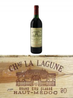 Château La Lagune 1990 Original wooden case of 12 bottles (12x75cl)