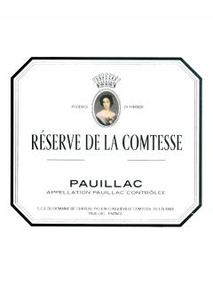 La Réserve de la Comtesse 2012 <br /><span>Original wooden case of 3 magnums (3x150cl)</span>