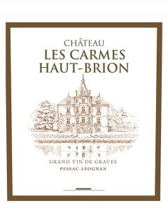 Château Les Carmes Haut-Brion 2008 Original wooden case of 12 bottles (12x75cl)